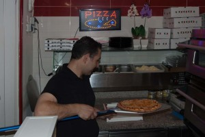 Pizza bakken 1